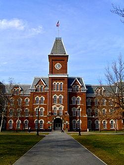 University Hall OSU March.JPG