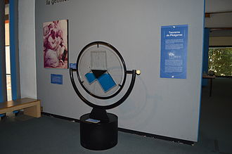 Pythagorean theorem - Exhibit on the Pythagorean theorem at the Universum museum in Mexico City