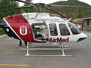 English: University of Utah AirMed medical eva...