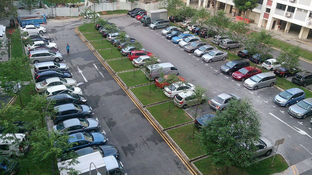 File Urban Redevelopment Authority Car Park In A Housing