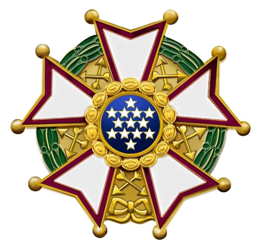 Us legion of merit chief commander