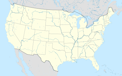 Map of United States showing Charlotte, Tampa, Nashville, Las Vegas, Los Angeles and Baltimore