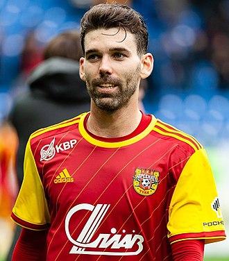 Víctor Álvarez (footballer) - Álvarez with Arsenal Tula in 2019