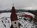Vítkovice (okres Semily), věž kostela II.jpg