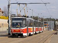 Výluka Zenklova, Vychovatelna, Tatra KT8D5.jpg