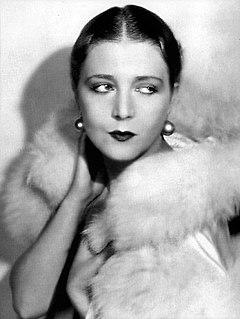 Vilma Bánky Hungarian-American film actress