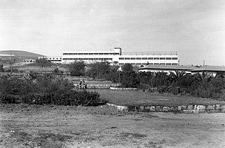 Mishmar HaEmek - School building, Mishmar Haemek, December 1938