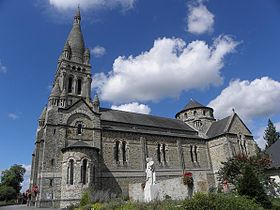 Image illustrative de l'article Église Saint-Étienne de Val-d'Izé