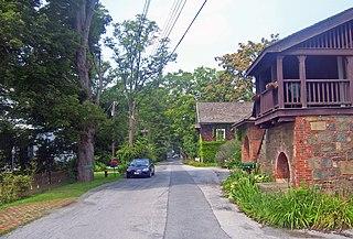 Vanderbilt Lane Historic District United States historic place