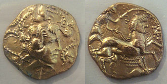 Celtic coinage - Coins of the Veneti, 5th-1st century BCE.
