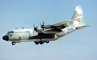 Venezuelan Air Force - A C-130H Hercules on approach