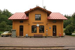 Verkebäcks station 2010.