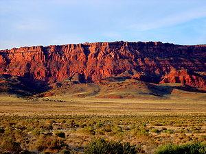Vermilion Cliffs - Vermilion Cliffs — view from Arizona Hwy 89.