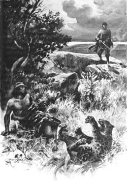 Verne - Les Naufragés du Jonathan, Hetzel, 1909, Ill. page 14