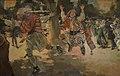 Vesprada de Carnestoltes a l'Albereda, Ignasi Pinazo, palau del marqués de Dosaigües.JPG
