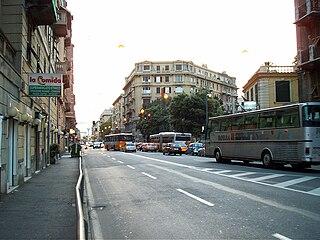 Cornigliano Quarter of Genoa