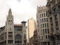 Via Laietana, edifici de la Caixa de Pensions i edifici annex.jpg