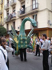 Vibria in a parade in Reus (Catalonia)