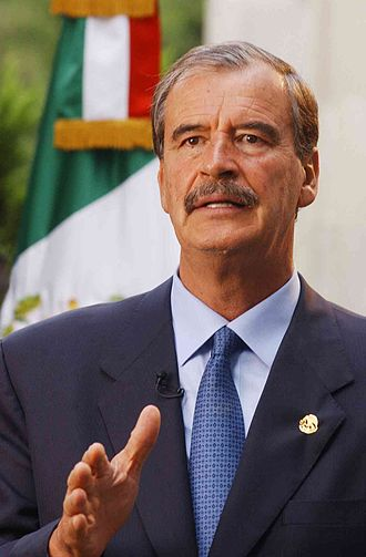 Vicente Fox - Image: Vicente Fox flag