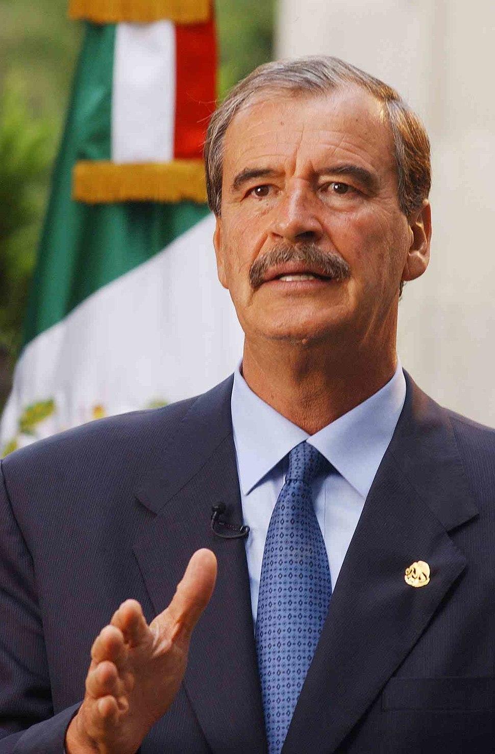 Vicente Fox flag