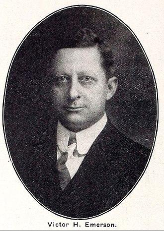Emerson Records - Emerson Records founder Victor H. Emerson ca. 1912.