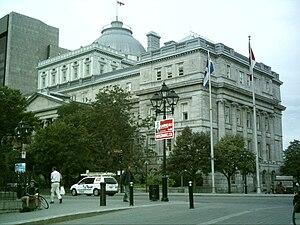 Palais de justice (Montreal) - Édifice Lucien-Saulnier.