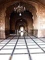 View across the main prayer hall - Badshahi Mosque.jpg