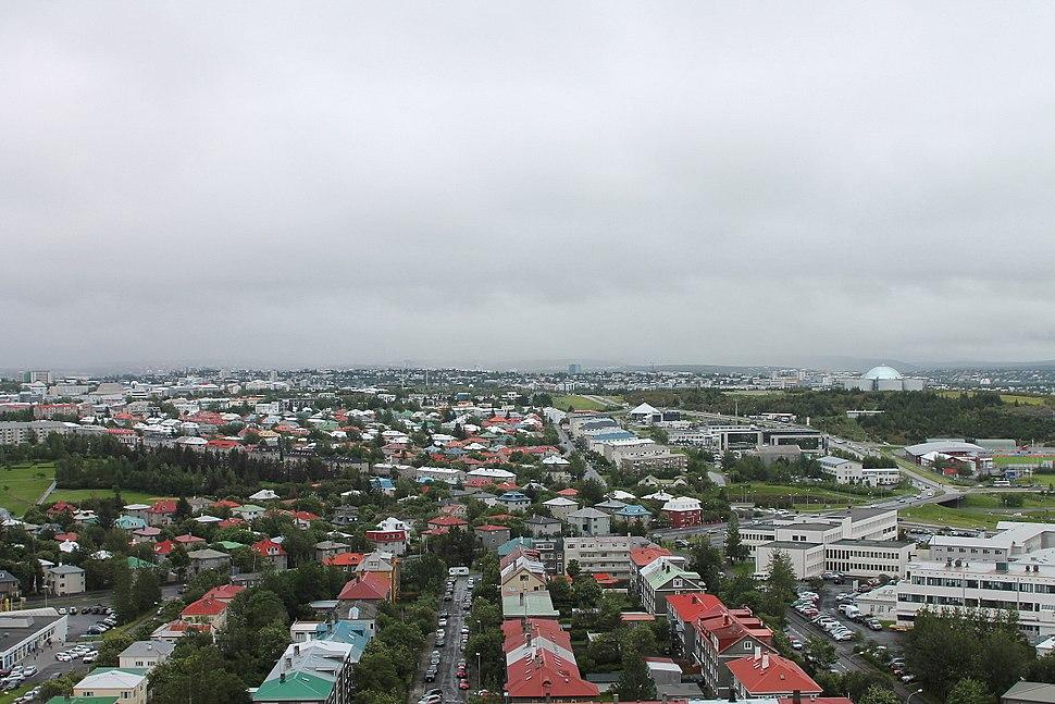 View from Hallgrímskirkja 11