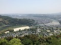 View from Tenshu of Iwakuni Castle (southeast).jpg