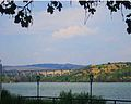 View from the coast od Mladost lake , Veles.jpg