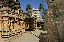 View from the rear of Someshwara temple at Kolar.jpg