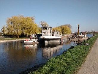 Kula, Serbia - Image: View of Canal in Kula