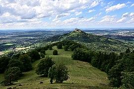 View on Hohenzollern Castle from Zeller Horn.jpg