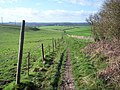 View towards Barford St Martin from nearing Grovely Woods - geograph.org.uk - 350577.jpg