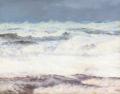 Viggo Helsted - Brænding ved Vesterhavet udfor Agger - 1913.png