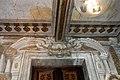Villa Guicciardini-Majnoni di Vico d'elsa, interno, androne barocco con affreschi attr. ad agostino tassi, 05.jpg