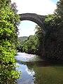 Villemagne-l'Argentière (Hérault, Fr) pont du diable sur la Mare (v).JPG