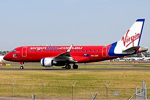 Virgin Blue Airlines Embraer ERJ-170-100LR 170LR SYD Li Pang.jpg