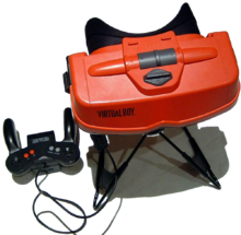 Virtual Boy konsollen