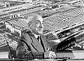 Vittorio Valletta nel suo ufficio presso lo stabilimento Fiat Mirafiori, Torino anni Sessanta - san dl SAN IMG-00001318.jpg