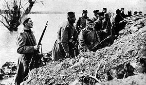 Serbian Campaign of World War I - Image: Vojska Ada Ciganlija