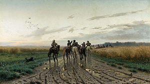Yefim Volkov - Image: Volkov On the way to the pasture