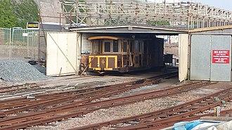 Volk's Electric Railway - Image: Volks electric railway car 4