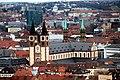 Würzburg, Blick von der Festung Marienberg zum Würzburger Dom.jpg