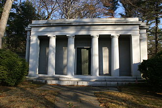 Walter Chrysler - The mausoleum of Walter Chrysler in Sleepy Hollow Cemetery