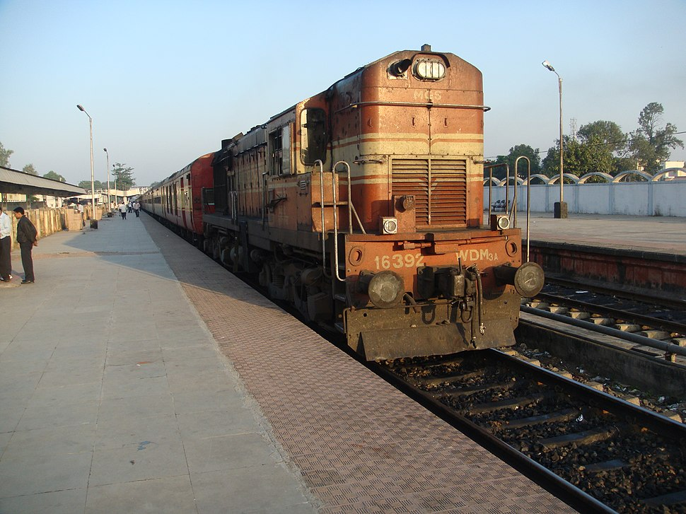 WDM 3A with 12293 Duronto Express