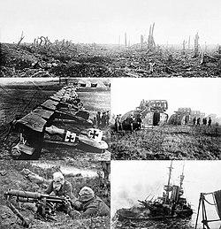 39174ca812 Képek a bal felsőtől: nyugati front * Albatros D.III a Jasta 11  vadászszázadnál