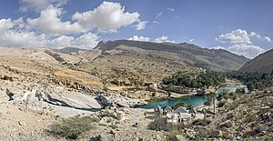 Ash Sharqiyah Region (Oman) - The spectacular Wadi Bani Khalid lies in Oman's Ash Sharqiyah region