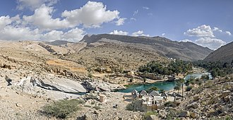 Ash Sharqiyah Region (Oman) - Wadi Bani Khalid, a destination for tourists in the area