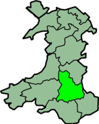 Brecknockshire - Image: Wales Brecknockshire Trad